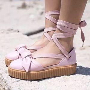 NEW Puma Fenty Rihanna Bow Creeper Sandals